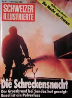 Schweizer Illustrierte vom 3. November 1986 - klicken für grössere Fassung