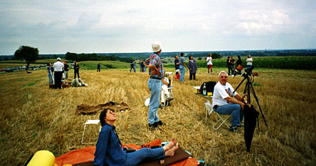 Sonnenfinsternis 1999 im Elsass