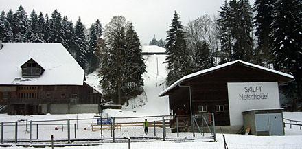 Skilift Netschbühl, Eggiwil (7. Januar 2009)