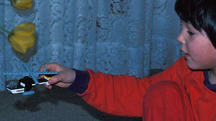 Ein 7-jähriger Polizei-Heli-Freak anno 1979