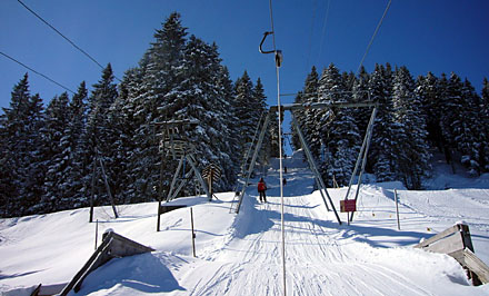 Skilifte Selital (Februar 2009)