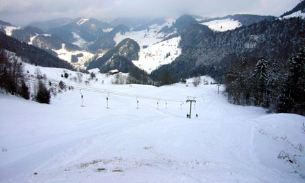 Skilift Hohe Winde, Beinwil SO (Februar 2009)