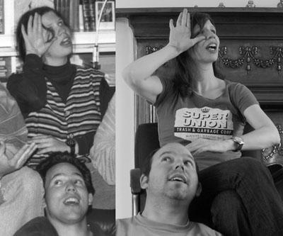 15 Jahre liegen zwischen den Fotos: Salome und Andi 1994 und 2009
