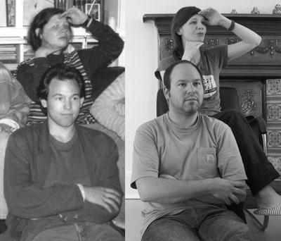 Nach 15 Jahren nachgestelltes Foto
