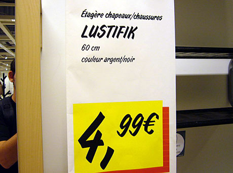 Lustifik (IKEA Toulon, November 2009)