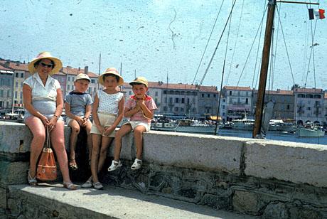 Saint-Tropez, Sommer 1960