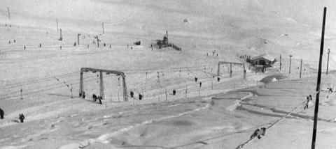 Skigebiet Scuol, Winter 1985 (eigenes Archivbild)
