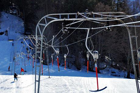 Skilift La Corbatière im Jura