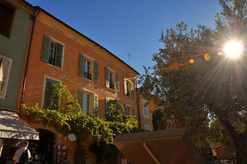 Moustiers-Ste-Marie, 9. Oktober 2012