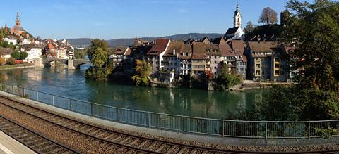 Laufenburg, Oktober 2012