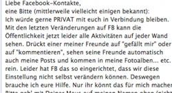 Facebook-Hoax, Sommer 2012