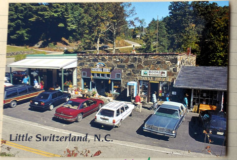 Little Switzerland, North Carolina, Juni 1993