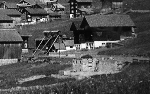 Mein Elternhaus im Sommer 1948 - Foto: Teofil Schmid