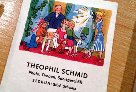 Fotoverpackung von Teofil Schmid
