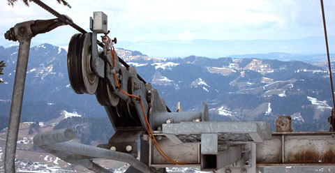 Skilift Heiligkreuz, 9. März 2013