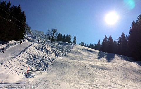 Skifahren in Innereriz, März 2014 - klicken für mehr Fotos