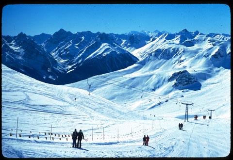 Skigebiet Scuol-Motta Naluns, 1980