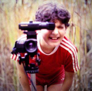 Filmen mit Videokamera 1986