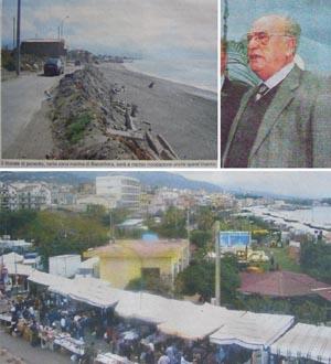 Bilder aus der Gazzetta del Sud, Messina, 18. September 2007