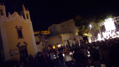 Preisverleihung des Salinadocfest in Santa Marina Salina, 23. September 2007