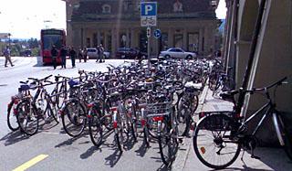 Veloparkplatzmisere in Bern, Teil 9879874