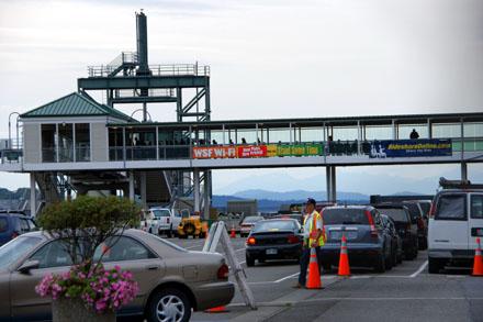Im Hafen von Seattle, wo laut Grey's Anatomy manchmal Fähren verunglücken