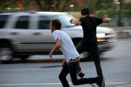 Skater in Portland, OR, August 2008 - Klicken für mehr Fotos