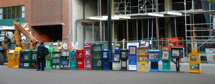 Zeitungsboxen in Portland, Oregon