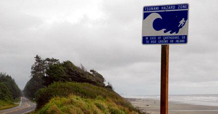 Tsunami Hazard Zone (Olympic Peninsula, August 2008)