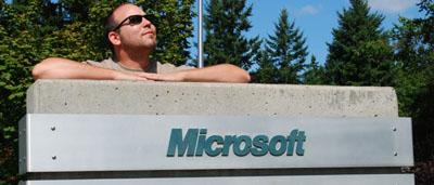 Besuch bei Microsoft in Redmond (September 2008)