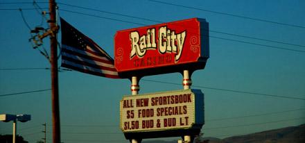 Hier ist die Rail City ein Casino... (September 2008)