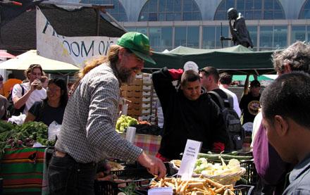 Farmers Market, Ferry Plaza, San Francisco (September 2008)