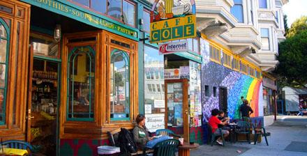 Café Cole, Haight-Ashbury (September 2008) -Klicken für mehr Bilder