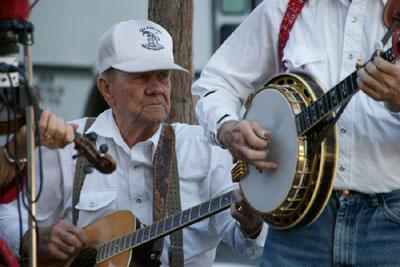 Die Link River Ramblers spielen auf (September 2008)