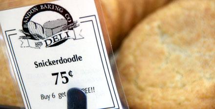 Snickerdoodle - Bandon Baking Co, Bandon, Oregon (September 2008)
