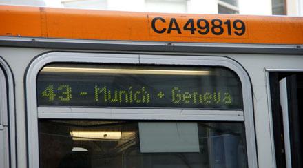 Nach München und Genf mit SF Muni (September 2008) - Klicken für mehr Bilder