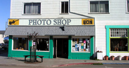 Photo Shop - das muss Adobes Hauptsitz in Fort Bragg sein! (September 2008) - Klicken für mehr Fotos