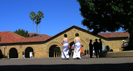 Hochzeit auf dem Stanford-Campus (September 2008) - Klicken für mehr Fotos