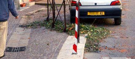 Sturmnacht im Pays de Fayence (November 2008)