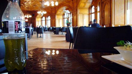 Das neue Restaurant im Bundeshaus mit unserem hausgemachtem Olivenöl (November 2008)