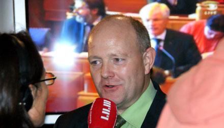 Stephan Hügli, der Verlierer der Gemeinderatswahl (30. November 2008) - Copyright Andi Jacomet