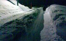 In Sedrun liegen 80cm Schnee: Himmlisch