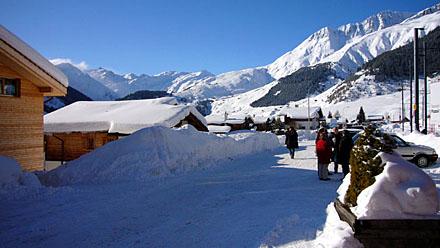 Wunderwintertage im Tujetsch (Dezember 2008)