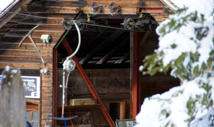 Skilift Roseggli in Bumbach-Schangnau (Januar 2009) - Klicken für mehr Fotos