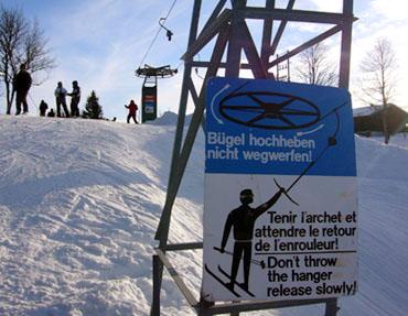 Skilift Tramelan, Bergstation (Januar 2009) - Klicken für mehr Fotos