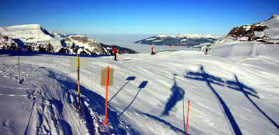 Nebelmeer in verschiedenen Variationen am 30. Januar 2009 - Klicken für mehr Bilder