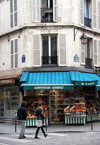 Paris im Februar 2009