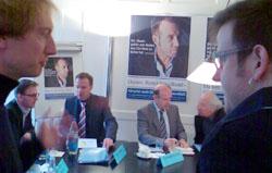 Medienkonferenz Rettet den Bund im Adrianos-Sitzungszimmer (25. März 2009)