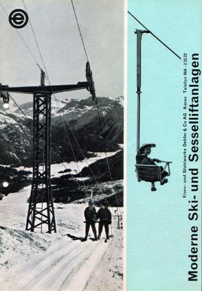 Oehler-Prospekt von 1960 (Nachlass Theo Brunner)