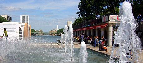 Bassin de la Villette, Paris, Juni 2008 - Klicken für mehr Bilder